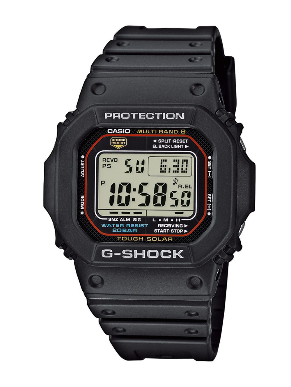 casio gw m5610 1er g shock radio solar watch